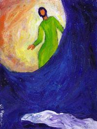 """Berna, Evangile et peinture """"C'est alors que l'autre disciple entra"""""""