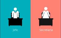 Rol de sexos - Jefe / Secretaria
