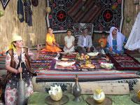 circuit Ouzbékistan - yourte dans le désert ouzbék - route de la soie