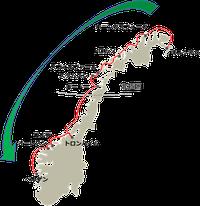 フッティルーテン南行き地図