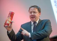 Tobias Schrödel in Aktion