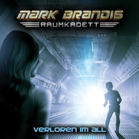 CD-Cover Mark Brandis Raumkadett 2: Verloren im All