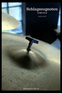 Schlagzeugnoten einfach erklärt