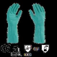 Guante Nitrilo Solvex Verde mod. Nv-200-08