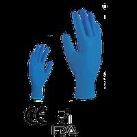 Guante de Nitrilo Azul Desechable mod. Nad 200-14