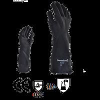 Guante de Hule Negro Industrial mod. Hn-200-09