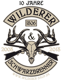 Logo Wilderer Shop - Schwarzbrenner