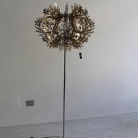 Lampada da terra SLAMP Fiorella gold