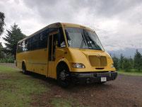 Renta de transporte escolar, viajes recreativos, viajes deportivos, excursiones