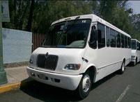 Renta de camiones de transporte de personal