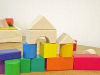 郡上八幡国産木製玩具グラデーション積み木mini