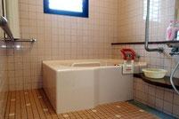 ▲入浴施設(浴室)