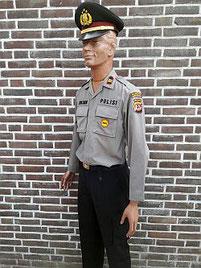 Politie Bandung Barat, West Java, luitenant, object beveiliger