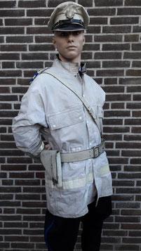 Gemeentepolitie Heerenveen, motortenue, zomer, 1962 - 1980, met dank aan collega Henk Scheenstra