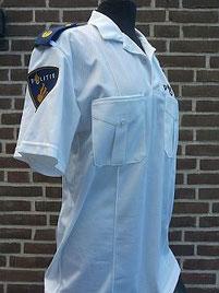 Bikersshirt, wit, korte mouw, regio Fryslan