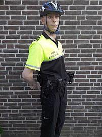Agent / biker, videosurveillance