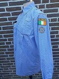 EU politieshirt Ierland, Garda