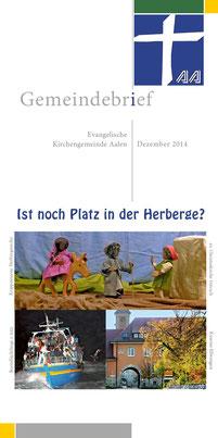 Gemeindebrief Aalen 2014-12