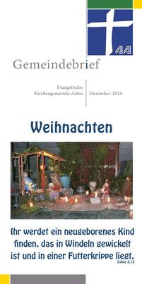 Gemeindebrief Aalen 2010-12