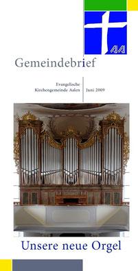 Gemeindebrief Aalen 2009-06