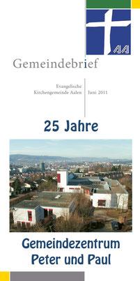 Gemeindebrief Aalen 2011-06