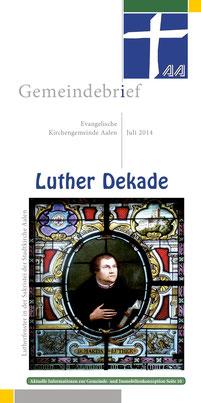 Gemeindebrief Aalen 2014-06