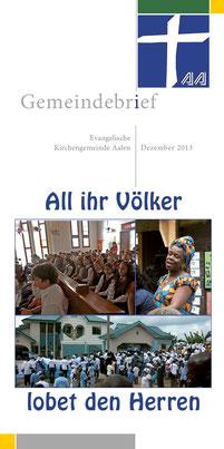 Gemeindebrief Aalen 2013-12