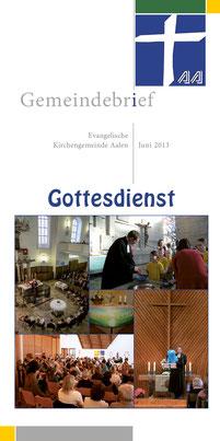 Gemeindebrief Aalen 2013-06