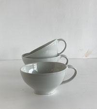 森岡由利子  白磁  スープカップ