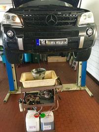 Getriebespülung Mercedes AMG