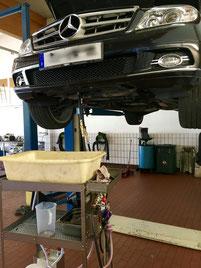 Getriebespülung Mercedes C-220