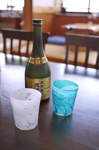 器と珈琲 Lien りあん のギャラリー: 琉球ガラス 屋我平尋氏の作品