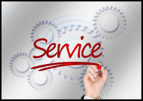 Serviceleistungen bei Bürobedarf und Papeterie Kelsch
