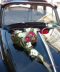 Blumenschmuck Auto Hochzeit - Sonthofen