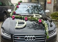Autoschmuck Hochzeit - Sabrinas Blumenlädele Sonthofen