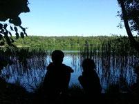 SUP mit Kindern in Brandenburg