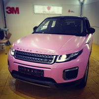 Vollfolierung Car Wrap Range Rover Wrap Expert