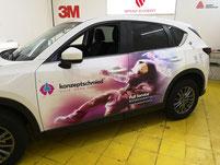 Werbefolierung ,Digitaldruck für das Auto von Wrap expert