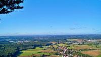 Panoramawanderung Franken