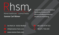 Römer Healthcare & Science Media, Wolken