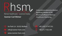 Römer Healthcare & Science Media, Wolken