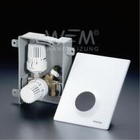WEM Multibox K-RTL, Thermostatventil, Rücklauf Flächenheizung- und Kühlung, Wandheizung