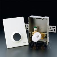 WEM Multibox K-RTL, Thermostatventil, Flächenheizung- und Kühlung, Wandheizung