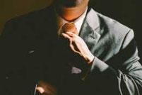Alpha Hypnose Mannheim Mann Krawatte