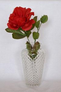 Blumenvasen aus Glas