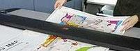 Großkopien von Plänen in Farbe und Schwarzweiß