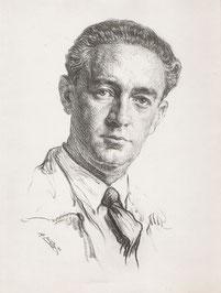 A.Bilis Autoportrait 1923