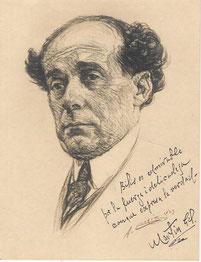 Martin Gil astronome  1923