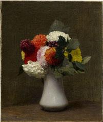 """Henri Fantin-Latour, """"Dahlien"""", 1872"""