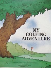 『ゴルフの本』中表紙
